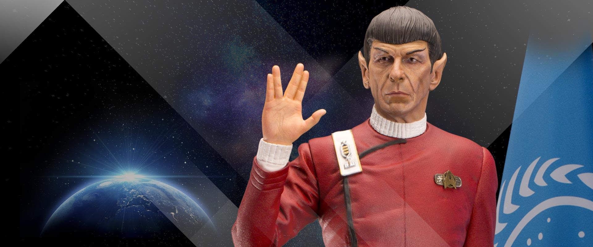 Captain Spock Exclusive
