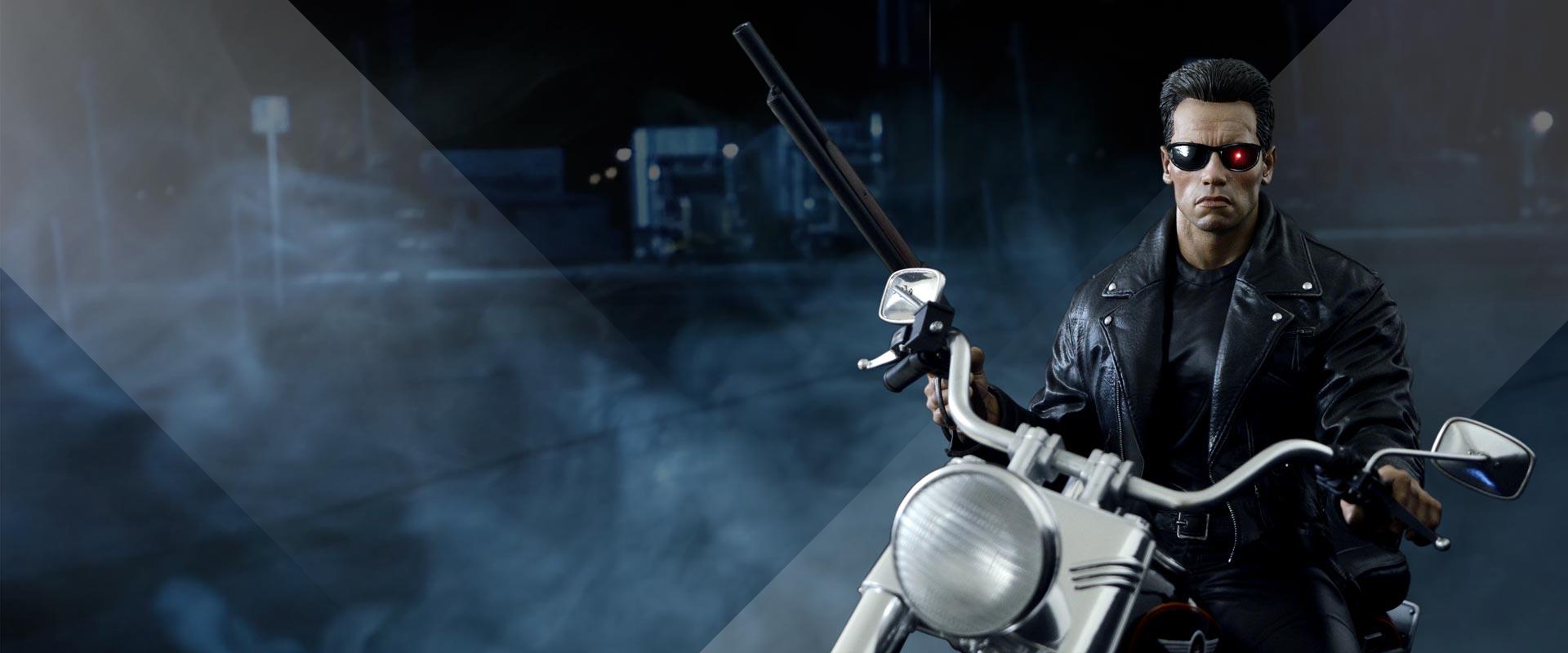 Terminator 2 on bike