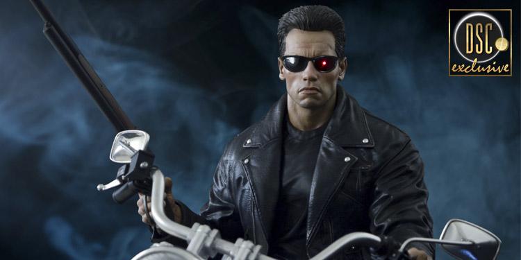 Arnold Schwarzenegger exclusive